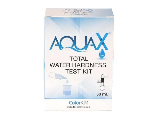 aquax total water hardness test kit colorkim
