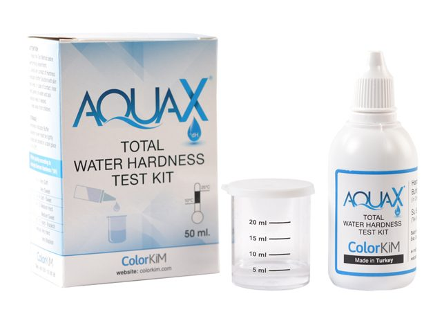 Colorkim | AQUAX® Total Water Hardness Test Kit