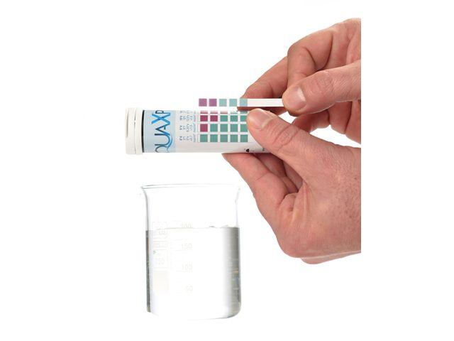 Colorkim   AQUAX®P Total Water Hardness Test Strips